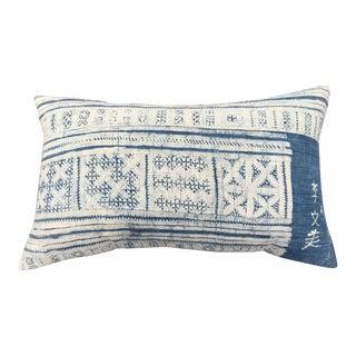 Vintage Chinese Batik Pillow