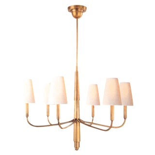 6 Light Chandelier in Hand-Rubbed Antique Brass