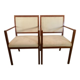 Ward Bennett for Brickel Associates Accent Chairs - a Pair