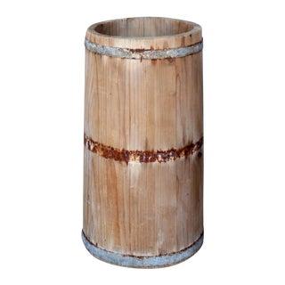 Vintage French Barrel