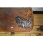 Image of Antique Leather Pommel as Bench