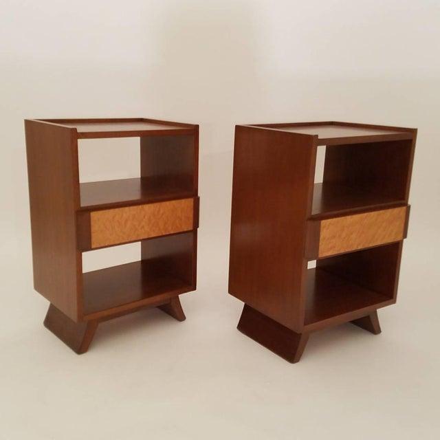 Eliel Saarinen For Rway Furniture Nightstands A Pair