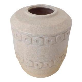 Robert Lallement French Art Deco Ceramic Vase