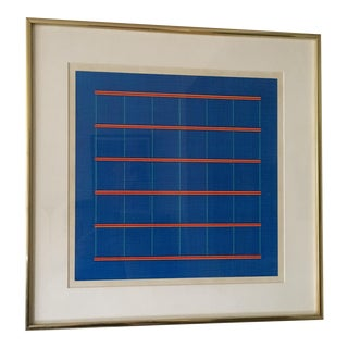 James Kelly 1977 Minimalist Abstract Painting