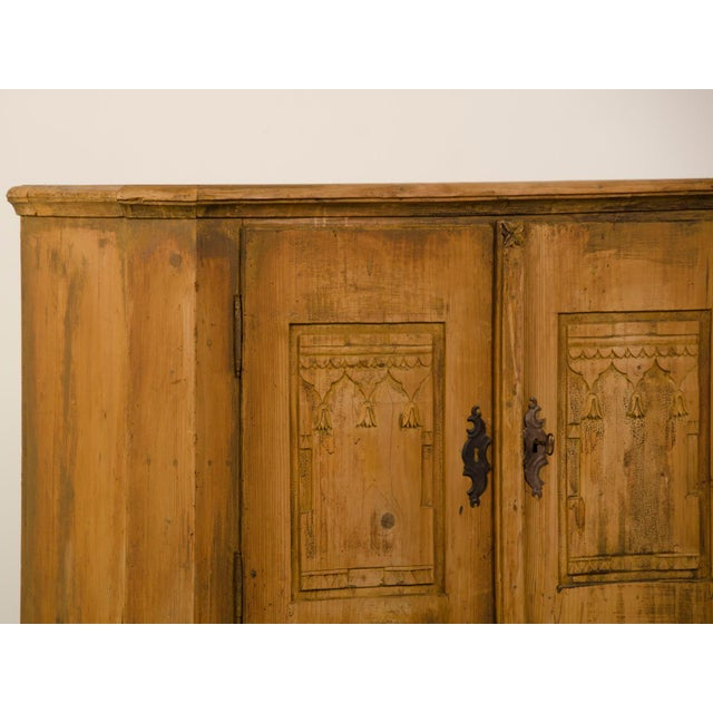 Antique German Neoclassical Bas d'Armoire or Buffet, Original Paint, circa 1780 - Image 8 of 10