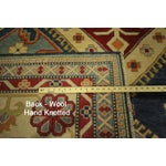 Image of Super Kazak Area Rug Blue - 10' x 15'