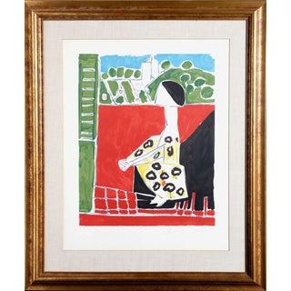 "Pablo Picasso ""Femme Accroupi"" Lithograph"