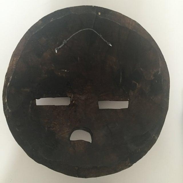 African Ghana Baluba Moon Mask - Image 6 of 6