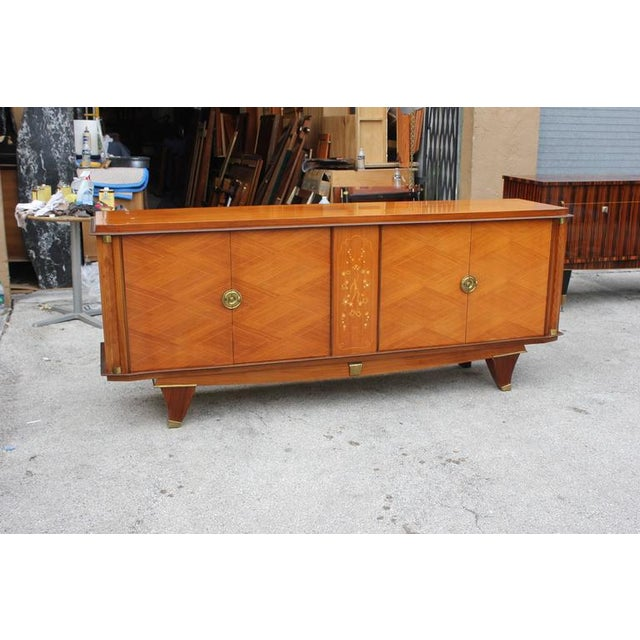 French Art Deco Palisander Sideboard - Image 5 of 10