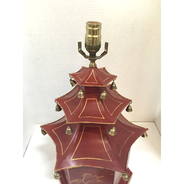 Chinoiserie Pagoda Table Lamp - Image 7 of 8