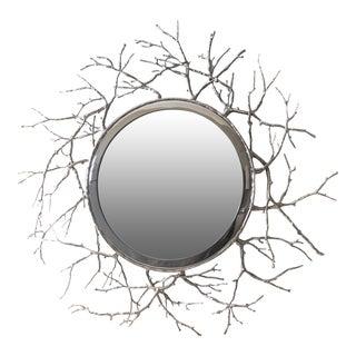 Worlds Away Twig Mirror