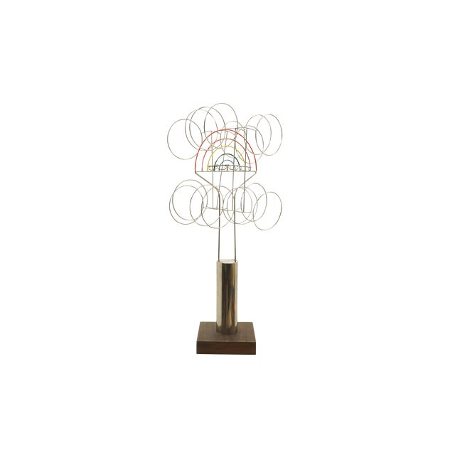 Joseph Burlini Kinetic Sculpture - Image 1 of 10