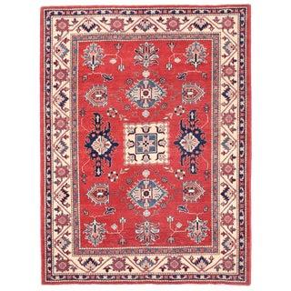 """Pasargad Kazak Wool Rug - 4' 11"""" X 6' 8"""""""