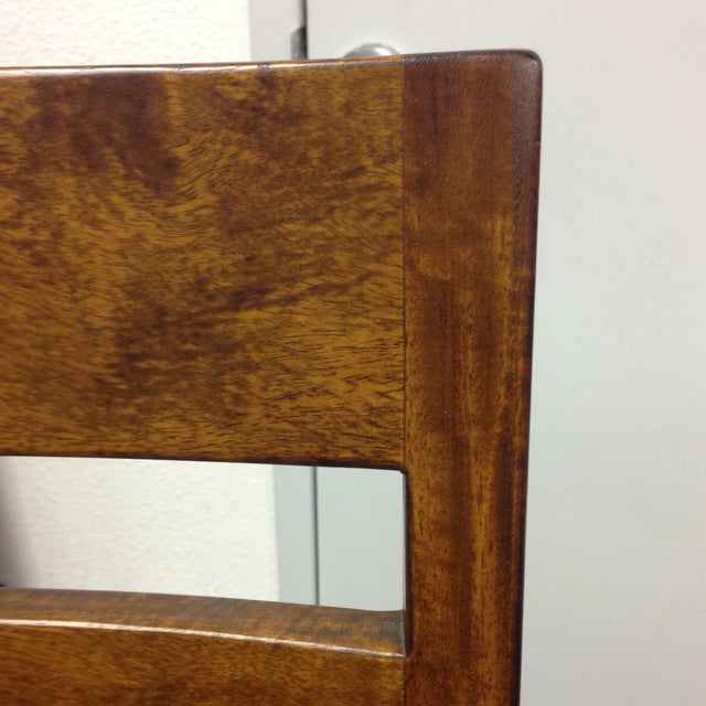 Image of Crate & Barrel Basque Honey Bar Stool