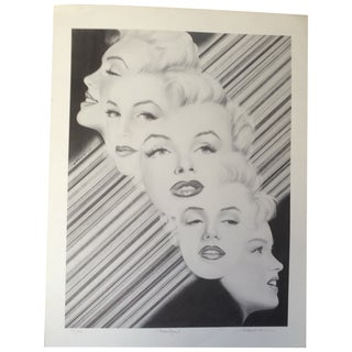 Marilyn Signed Print by Moore