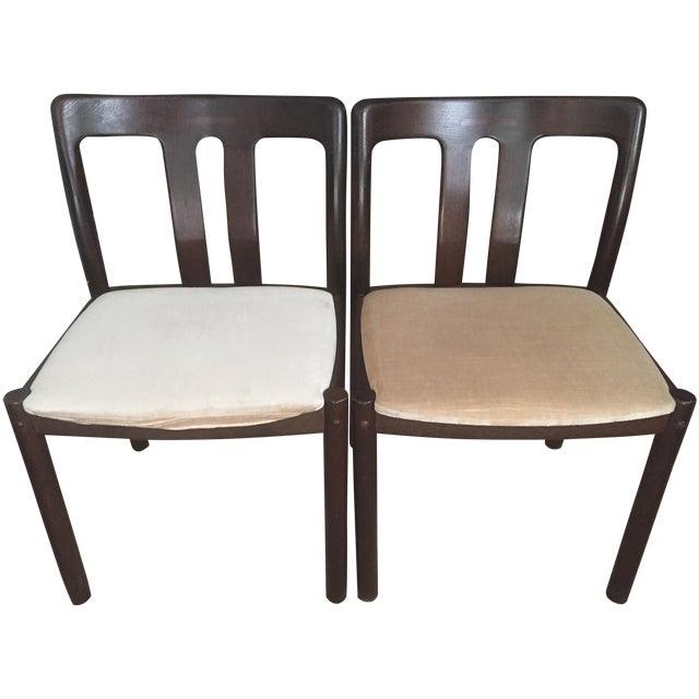 2 Mid-Century Danish Chairs -Mobelfabrik - Image 1 of 8