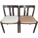 Image of 2 Mid-Century Danish Chairs -Mobelfabrik
