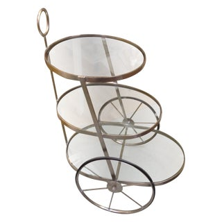 Three Tiered Bar Cart