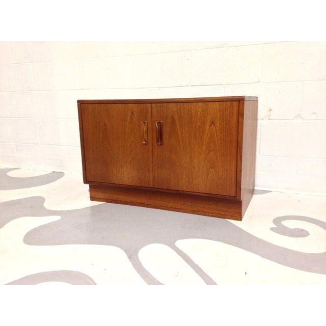 Mid-Century Two Door Teak Cabinet - Image 2 of 8