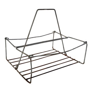 Vintage Metal Wire Caddy