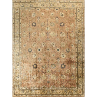 "1900s Antique Persian Tabriz - 11'8"" x 15'7"""