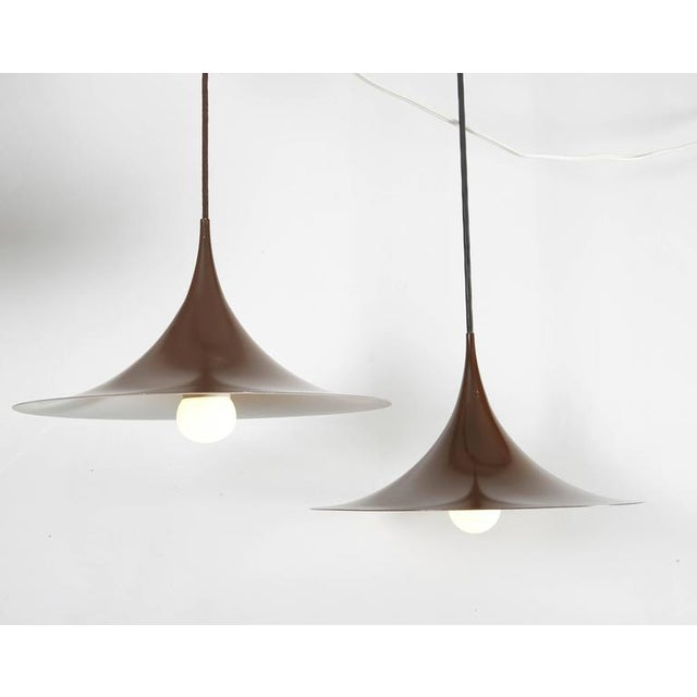 Semi Pendant Lamps by Claus Bonderup & Thorsten Thorup, Pair - Image 3 of 5