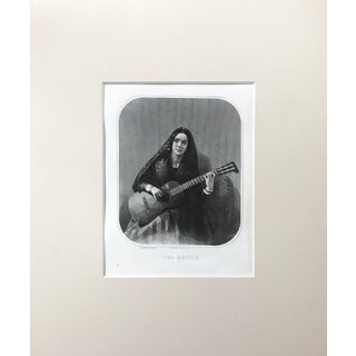 """""""The Guitar' Engraving by W. Anderson"""
