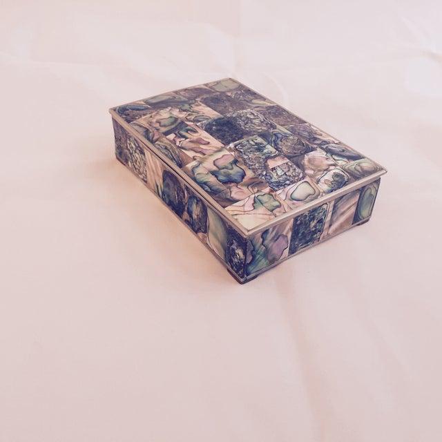 Large Abalone and Alpaca Box - Image 4 of 5