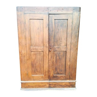 Primitive Two Halves Farm Armoire