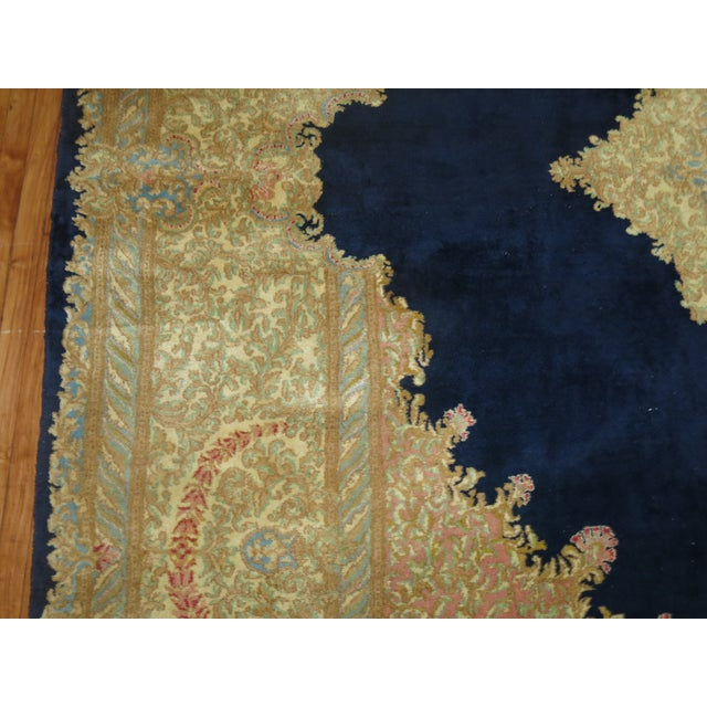 Vintage Persian Kerman Rug - 10'4'' x 13'2'' - Image 10 of 10