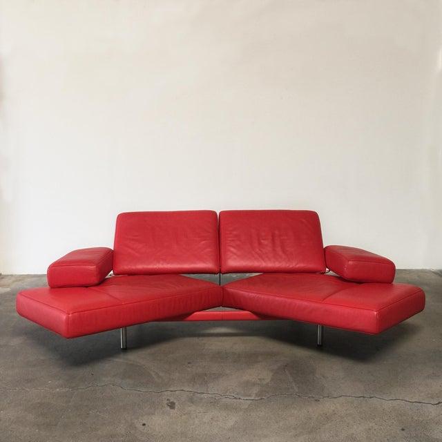 De Sede Ds-460 Multifunctional Sofa Red - Image 9 of 11