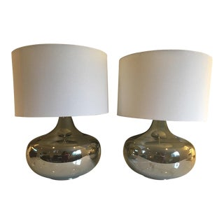 Crate & Barrel Martin Table Lamps - A Pair