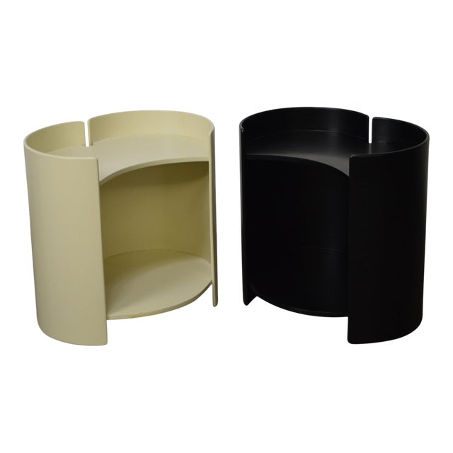 """Gea"" Pair of Side Tables by Kazuhide Takahama for Gavina - Image 1 of 11"