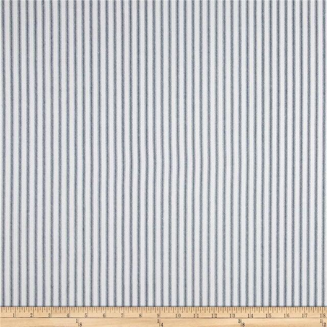Parker Upholstered Bench in Ticking Stripe - Image 5 of 5