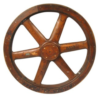 Antique Factory Pulley Gear