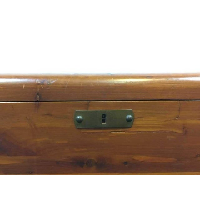 Image of Vintage Cedar Lined Storage Chest