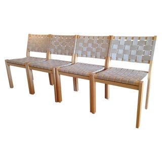 Alvar Aalto for Artek 611 Dining Chairs - Set of 4