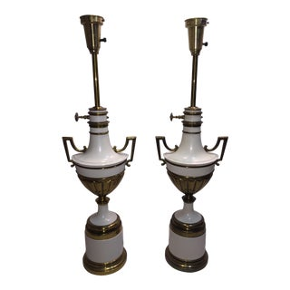 Stiffel Neoclassical Table Lamps - a Pair