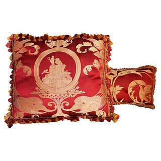 Scalamandre Neoclassic Style Pillows - Set of 2