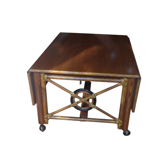 McGuire Convertible Coffee Table - Image 1 of 8