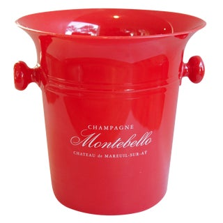 Vintage French Montebello Ice Bucket
