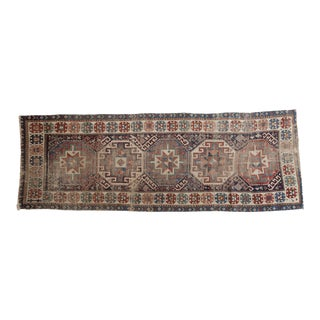 "Antique Caucasian Rug Runner - 2'11"" x 8'5"""