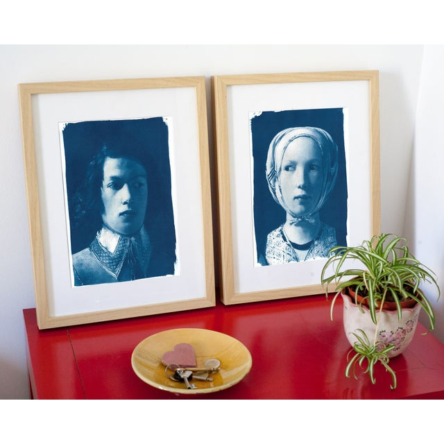 Cyanotype Prints from De La Tour - Pair - Image 2 of 8