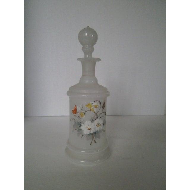 Antique Bristol Glass Decanter - Image 6 of 8