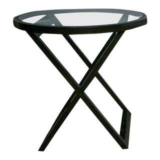 Black Mercer Street Lacquered Table