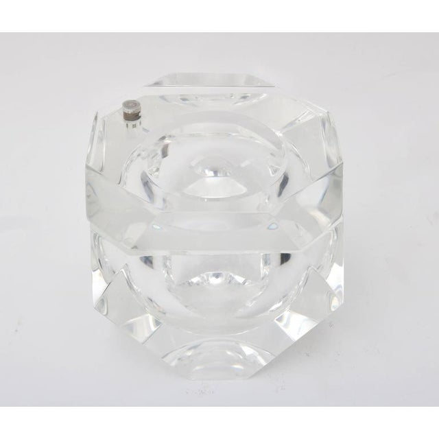 Alessandro Albrizzi Clear Lucite Ice Bucket - Image 2 of 7