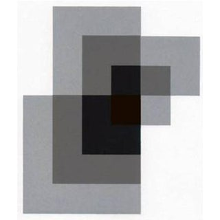 1997 Abstract Serigraph by Anton Stankowski, Limited Edition