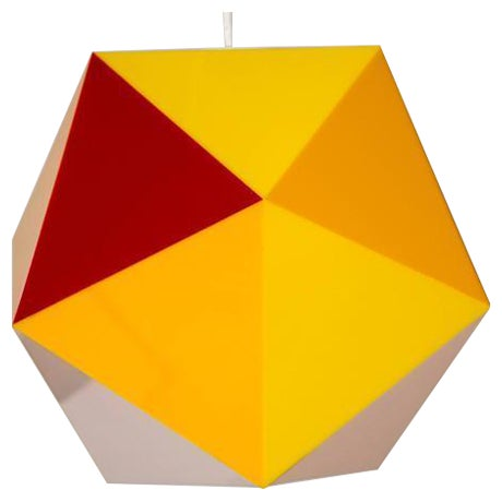 Geodesic Pendant Fixture - Image 1 of 6