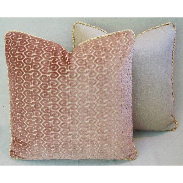 Designer Old World Weavers Velvet Pillows - A Pair - Image 9 of 11