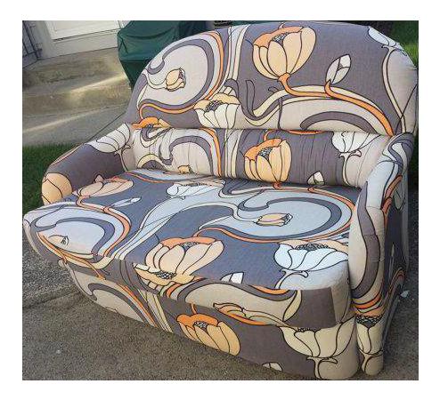 Mid Century Milo Baughman Tub Chair